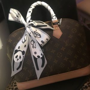 Panda purse Scarf Twillys
